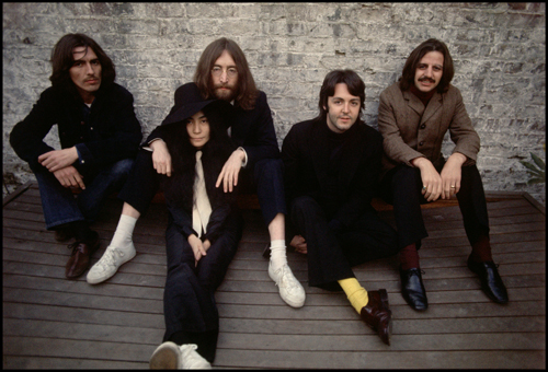 Beatles with Yoko Ono 1969